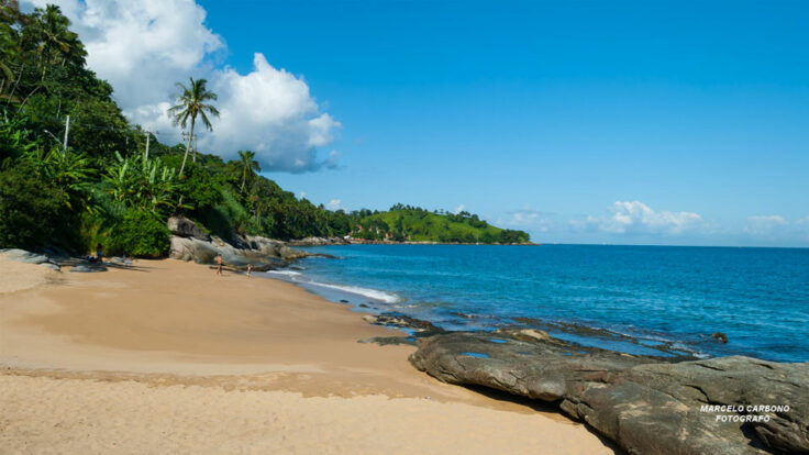 Praia do Oscar - Sul de Ilhabela