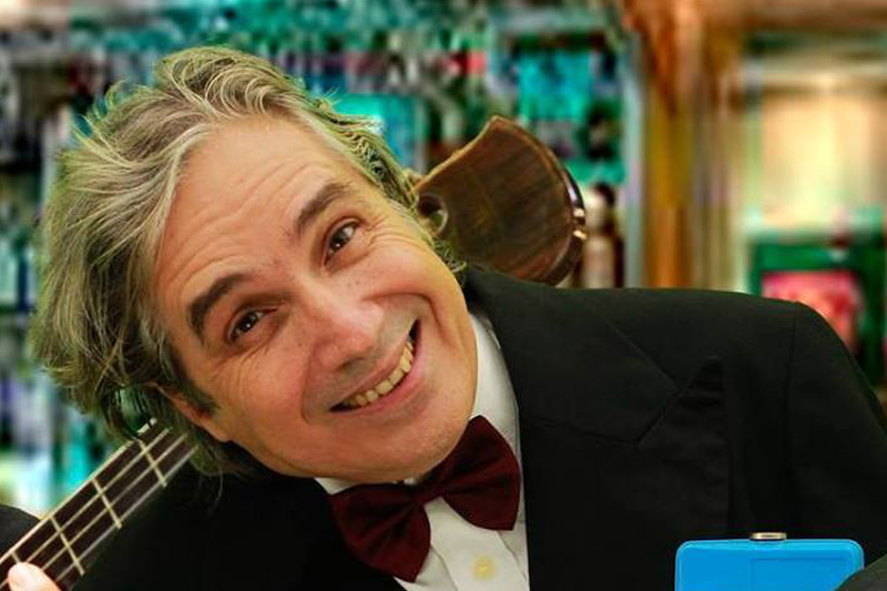 Wallerio Witz no Boteco Cultural de Ilhabela
