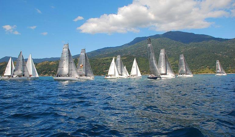Largada da Ilhabela Sailing Week 2014 - Ilhabela - Foto: Guilherme Andrade