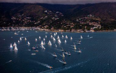 Veleiros da Ilhabela Sailing Week desfilam para a cidade no sábado