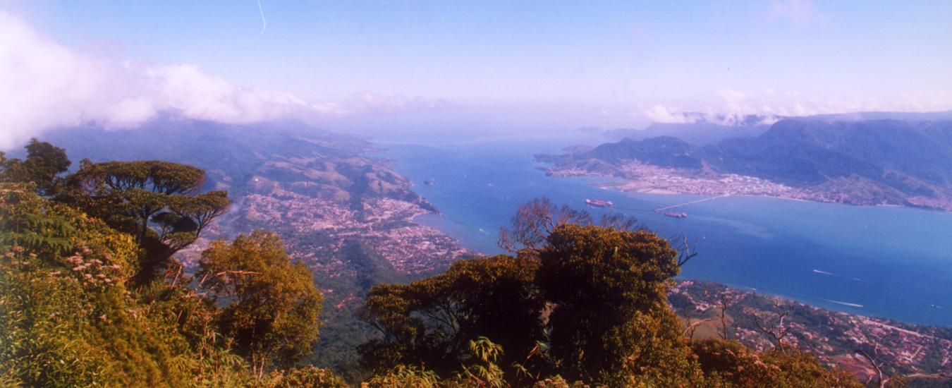 Vista do Canal de São Sebastião em Ilhabela - Foto: Fernando Tomanik
