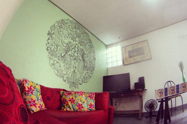 Green Hostel - Área comum - Portal Ilhabela.com.br