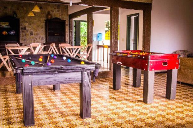 Hostel da Vila - Sala de jogos - Portal Ilhabela.com.br