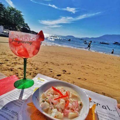 Papagaio Ilhabela - Bar e Restaurante na Praia do Curral em Ilhabela