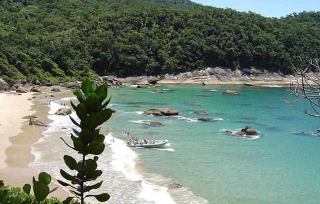 Praia da Caveira - Portal Ilhabela
