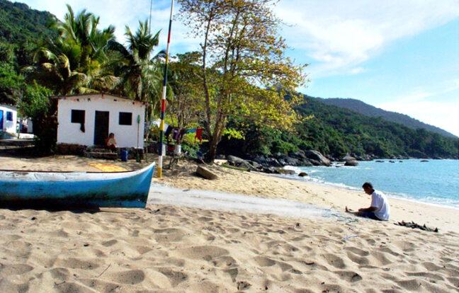 Praia da Serraria - Portal Ilhabela.com.br