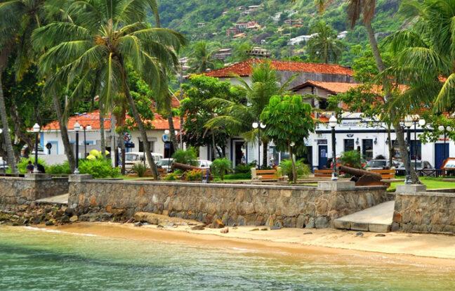 Praia da Vila - Portal Ilhabela.com.br