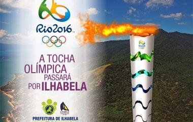 Rio 2016: Tocha Olímpica passará por Ilhabela