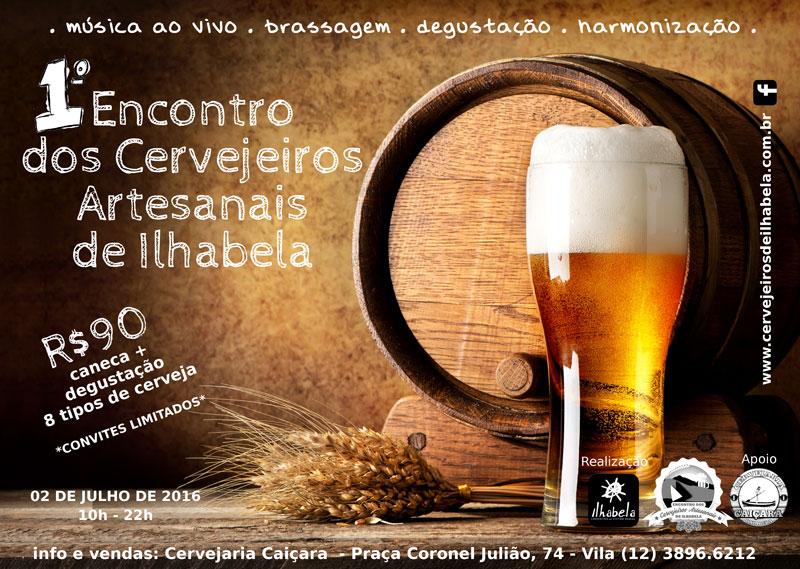 1º Encontro dos Cervejeiros Artesanais de Ilhabela