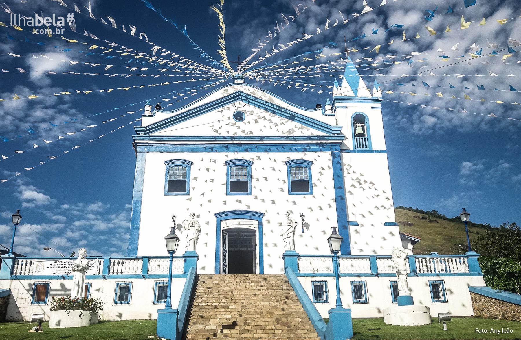 Igreja Nossa Senhora D'Ajuda - Ilhabela (foto: Any Leão)