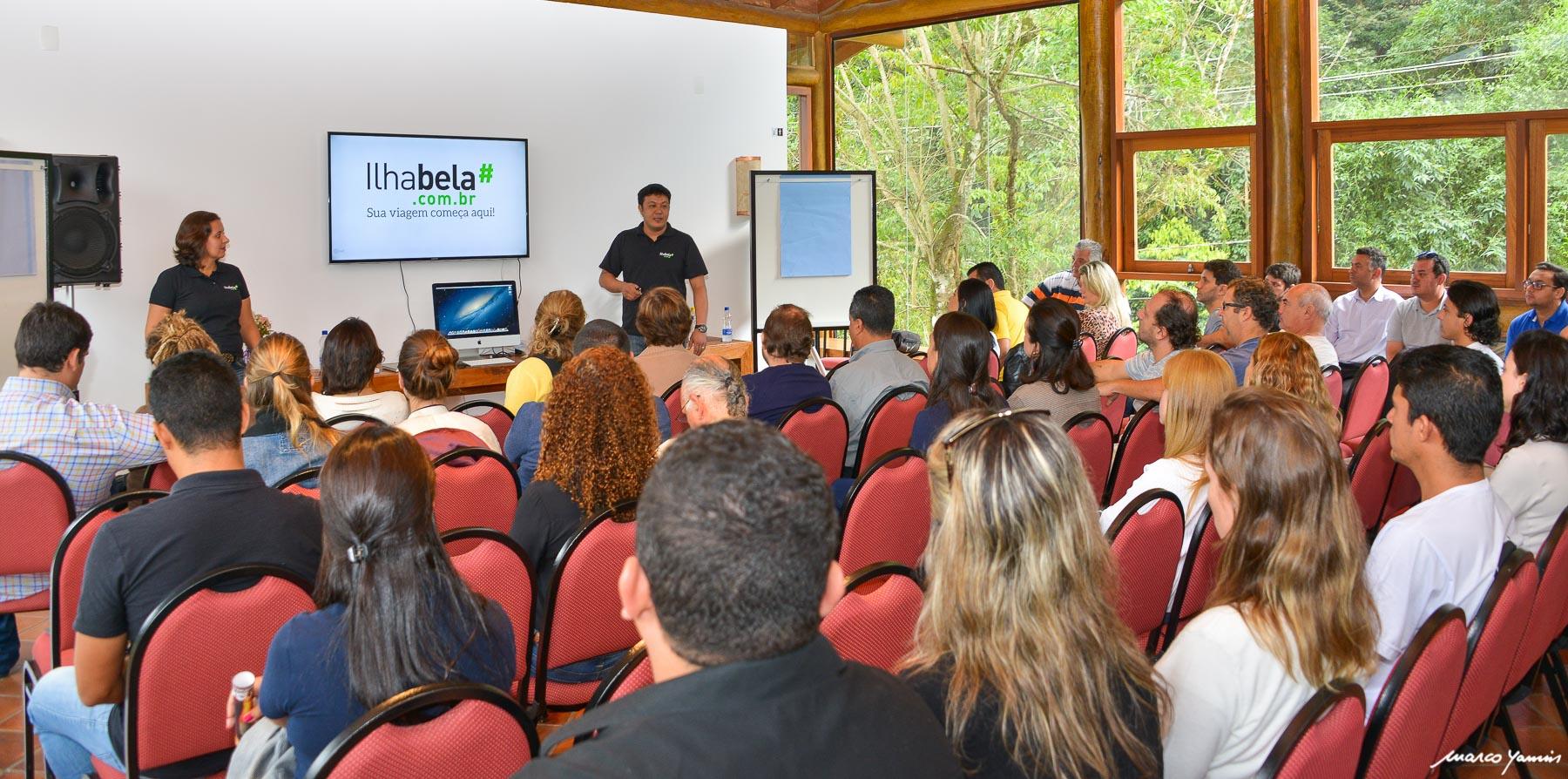 Lançamento do Novo Portal Ilhabela.com.br e Palestra do Google em Ilhabela