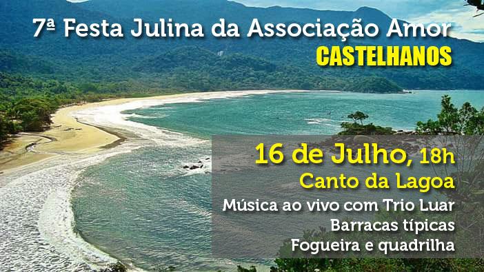 Festa Julina da Associação Amor Castelhanos