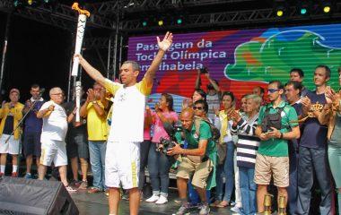 Capital da Vela recebe Tocha Olímpica