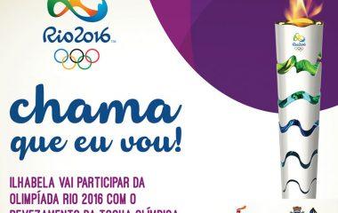 Tocha Olímpica em Ilhabela