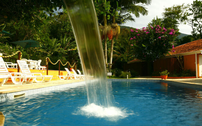 Cascata pisciina - Ilhasol Hotel Pousada - Ilhabela
