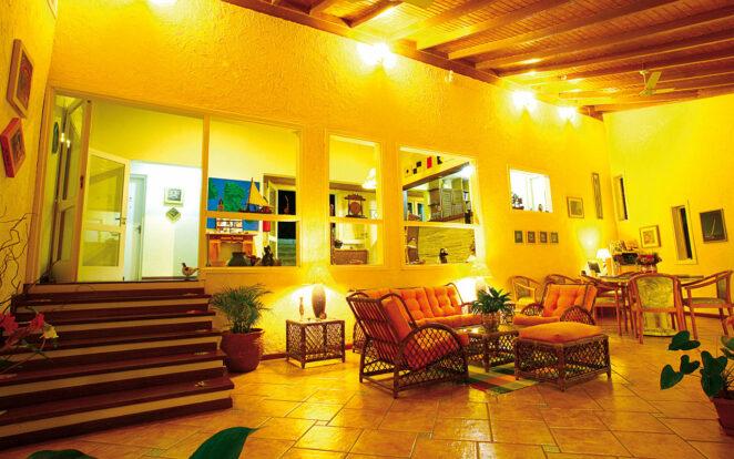 Salão - Ilhasol Hotel Pousada - Ilhabela