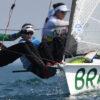 Brasil é ouro olímpico na vela com Martine Grael