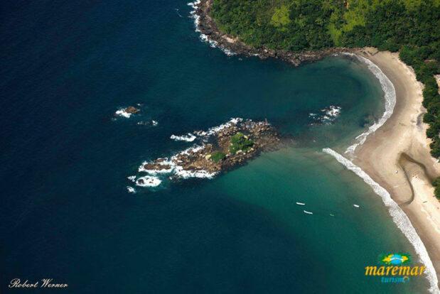 Praia de Castelhanos em Ilhabela - Maremar Turismo
