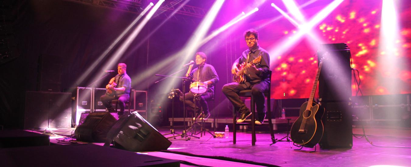Trinca Acústica no Festival do Camarão de Ilhabela