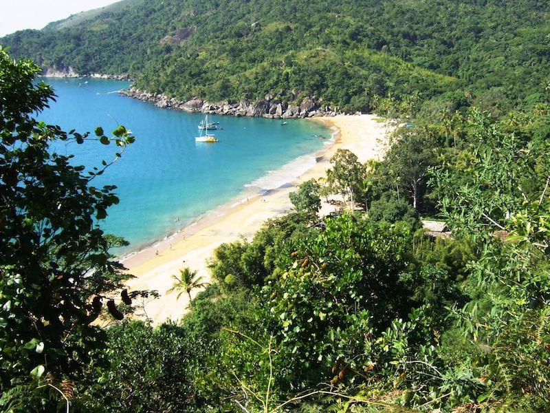 Praia do Jabaquara em Ilhabela (Imagem:Flickr/Pedro de Carvalho Ponchio)