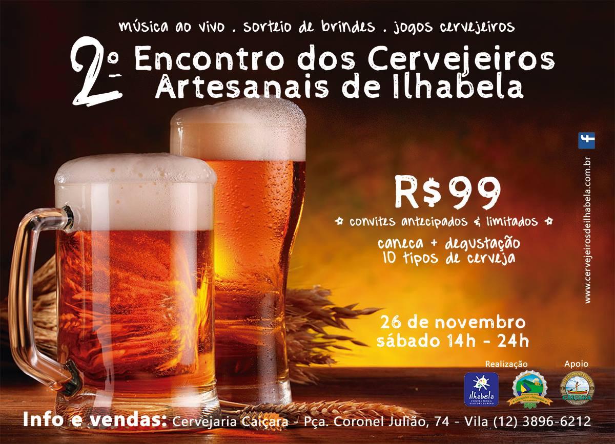 2o Encontro dos Cervejeiros Artesanais de Ilhabela