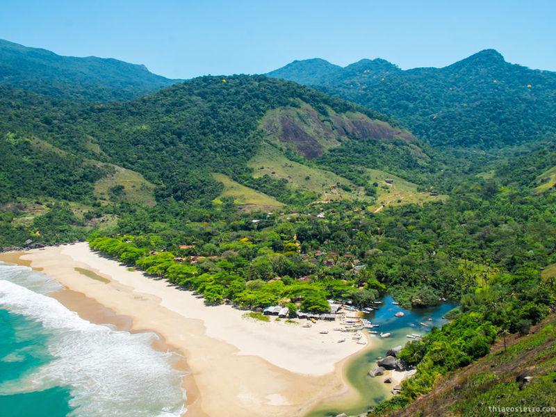 Praia do Bonete Ilhabela (Imagem: Wikimedia Commons/Thiago Sieiro Cunha)