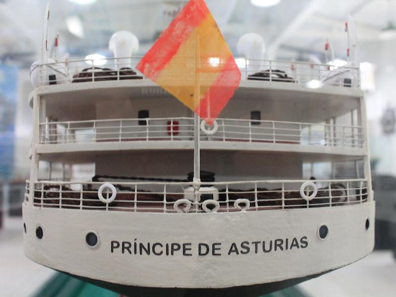 Principe de Asturias - Museu Nautico de Ilhabela