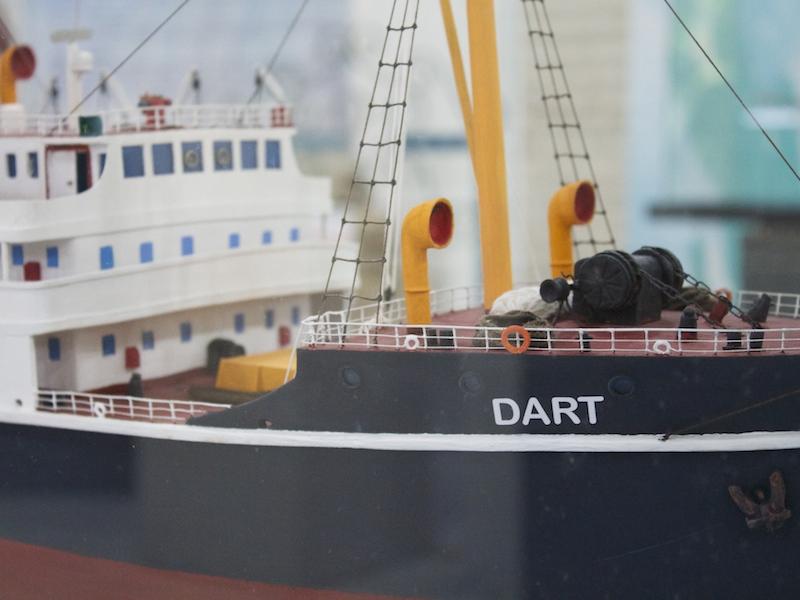 Réplica do navio Dart (Imagem: Arquivo Pessoal/Alessandra Stefani)