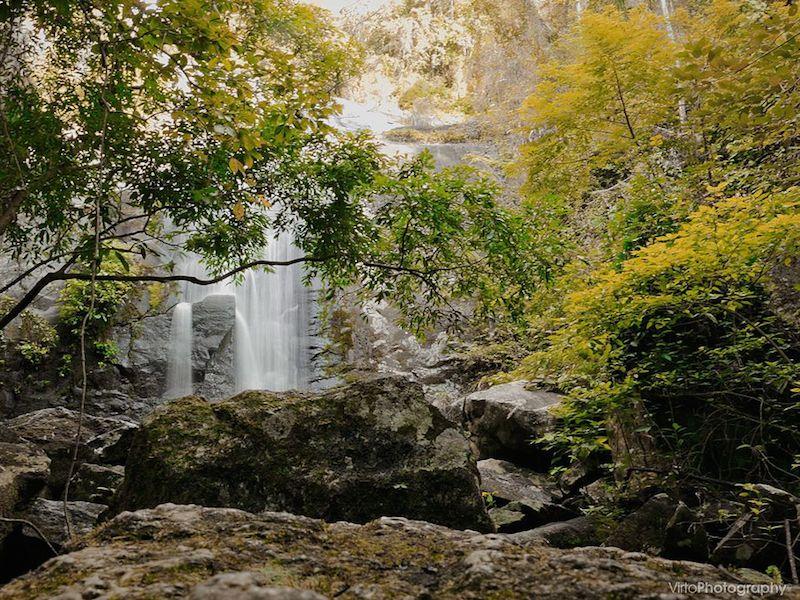 Terceira queda dagua da Cachoeira dos Tres Tombos (Imagem: Wikimedia Commons/Virto.Photo)