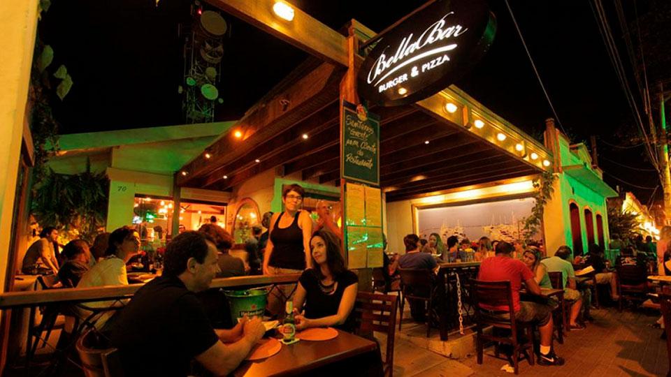 Bellabar Burger e Pizza - Ilhabela Noite
