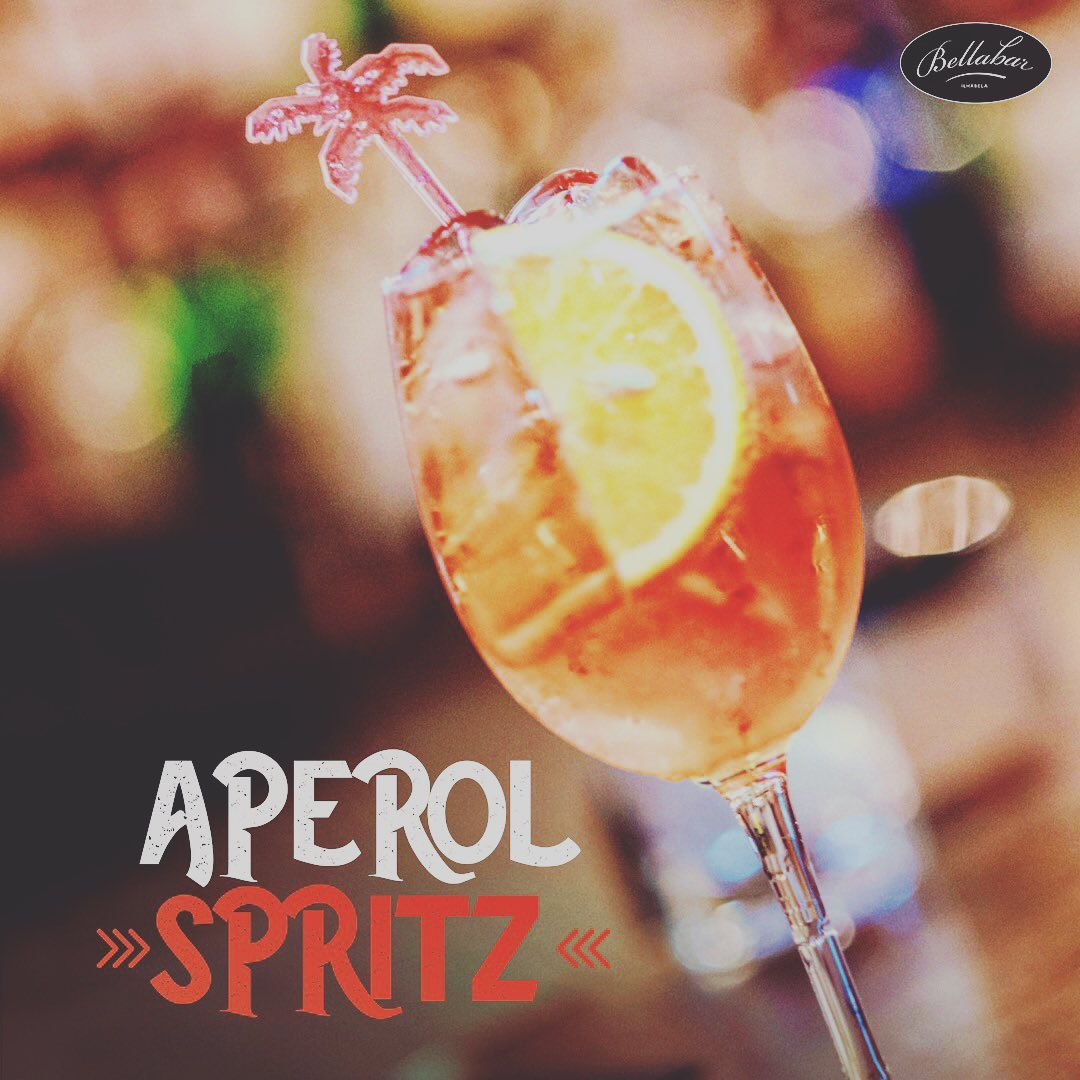 Aperol Spritz - Bella Bar Ilhabela