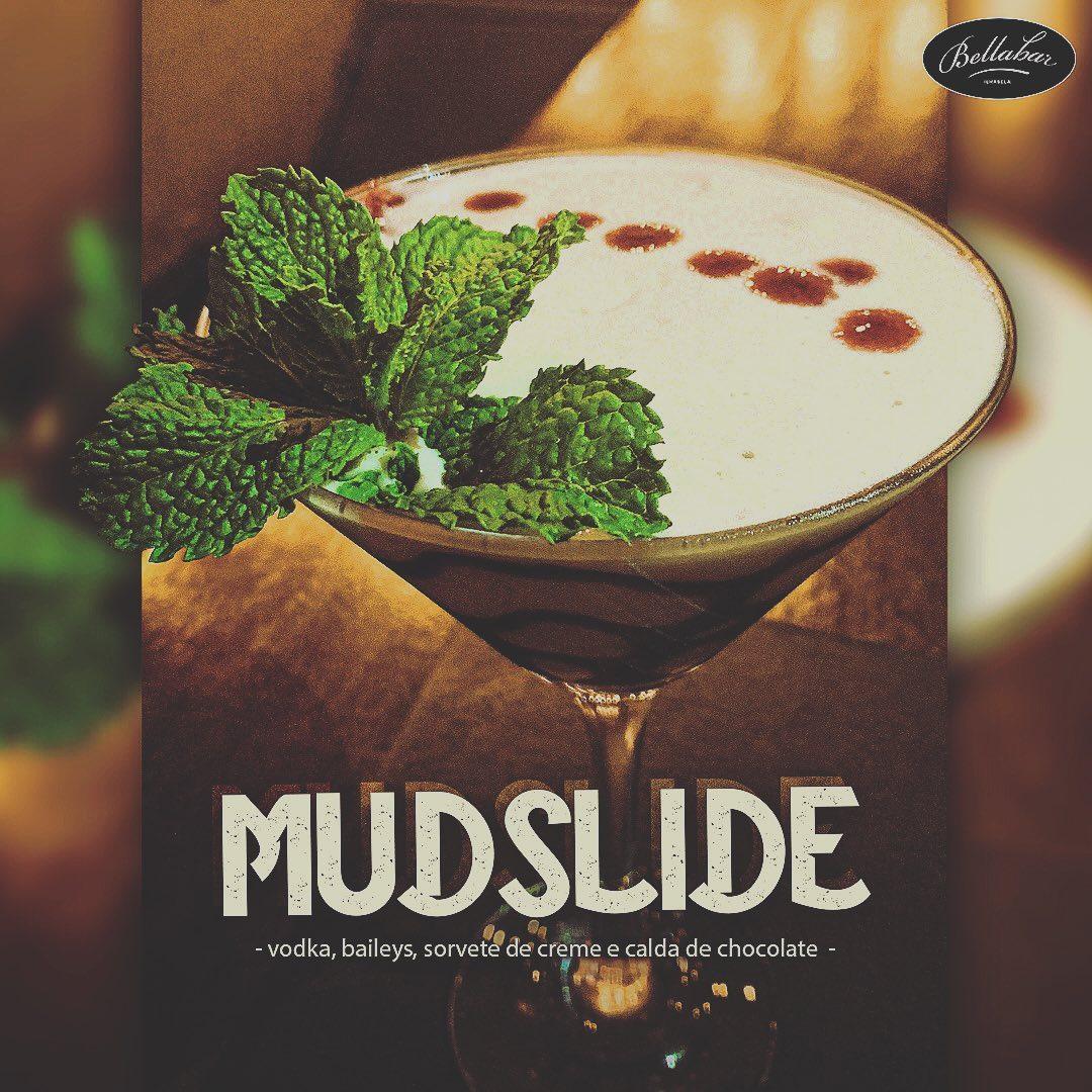 Drink Mudslide - Bella Bar Ilhabela