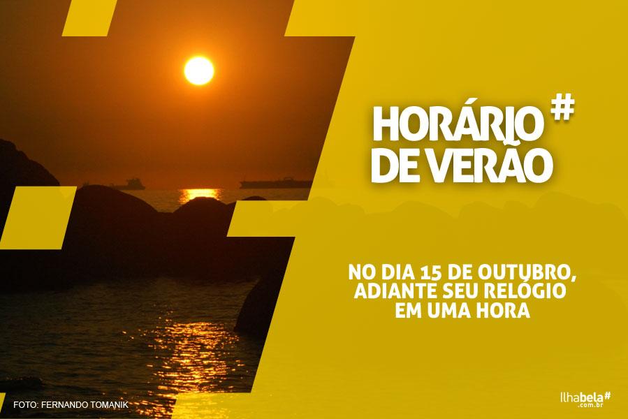 Horário de Verão 2017 - Ilhabela.com.br