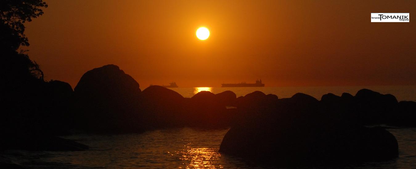 Horário de Verão - Pôr do Sol em Ilhabela (foto: Fernando Tomanik)