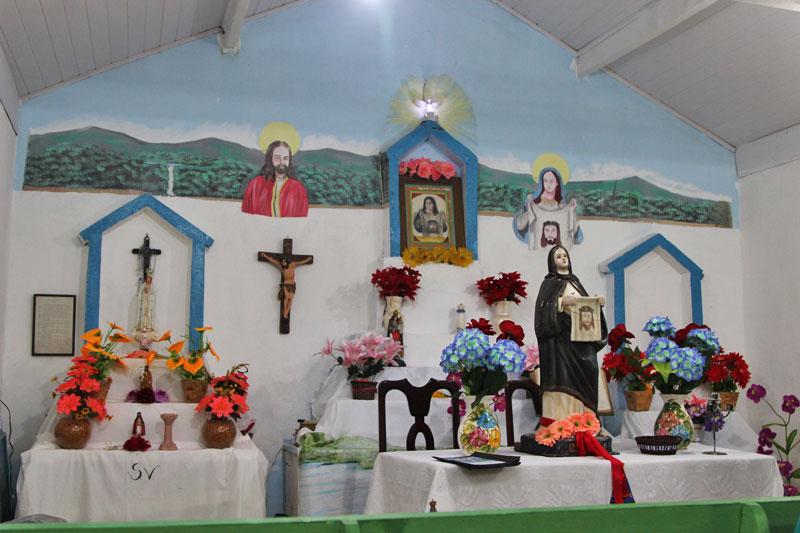 Igreja de Santa Verônica, Padroeira do Bonete (Imagem: Acervo Portal Ilhabela.com.br)
