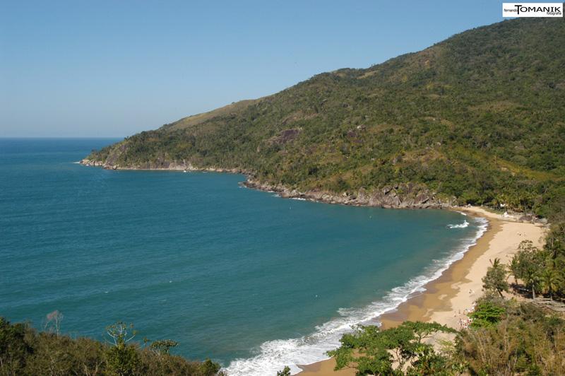 Praia do Jabaquara (imagem: Fernando Tomanik)