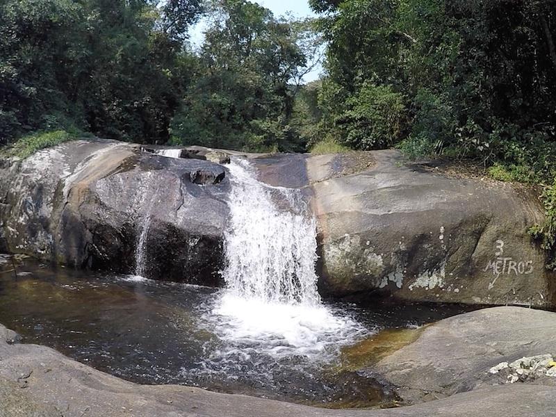 Cachoeira da Toca (Imagem: Alessandra Stefani/Arquivo Pessoal)