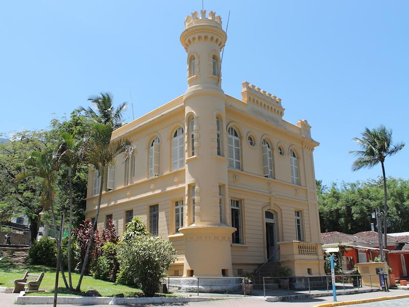 Centro de Exposição do Parque Estadual de Ilhabela (Imagem: Arquivo Pessoal/Alessandra Stefani)