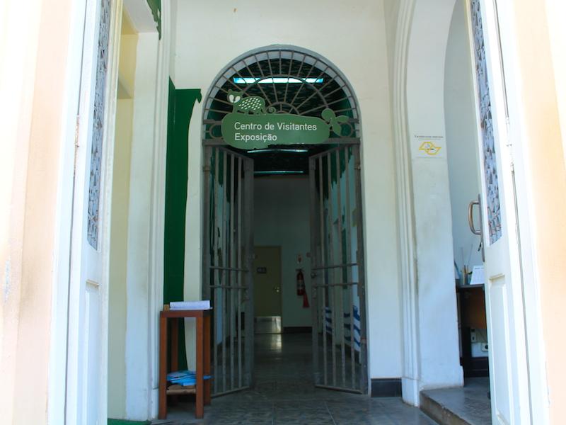 Entrada do Centro de Visitantes (Imagem: Arquivo Pessoal/Alessandra Stefani)