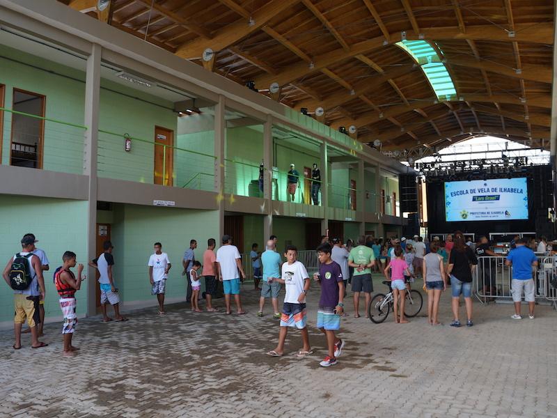 Escola de Vela Lars Grael (Imagem: Divulgação Prefeitura de Ilhabela)