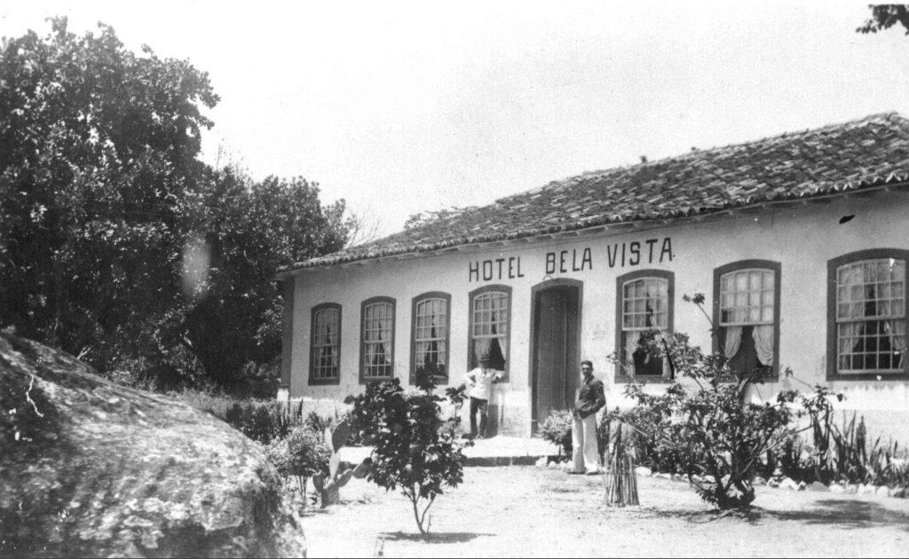 Hotel Bela Vista em 1940 (Acervo Prefeitura de Ilhabela/Secretaria Municipal de Cultura)