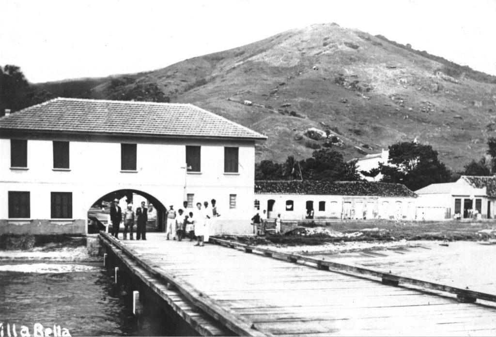 Píer da Vila em 1940 (Acervo Prefeitura de Ilhabela/Secretaria Municipal de Cultura)