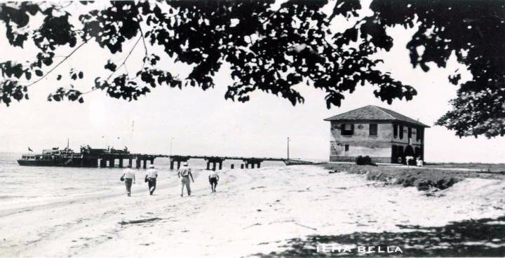Píer da Vila em Ilhabela (Acervo Prefeitura de Ilhabela/Secretaria Municipal de Cultura)