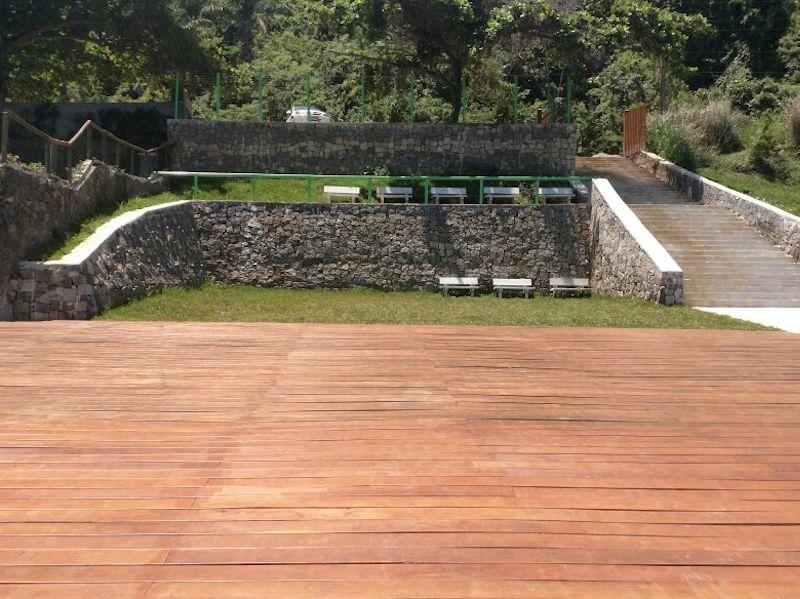 Plataforma de Apoio a Esportes Náuticos na Ponta das Canas (Imagem: Marcelo Castro)