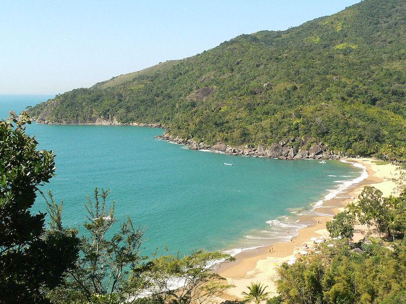 Praia do Jabaquara (Imagem: Edmilson sanches/Wikimedia Commons)