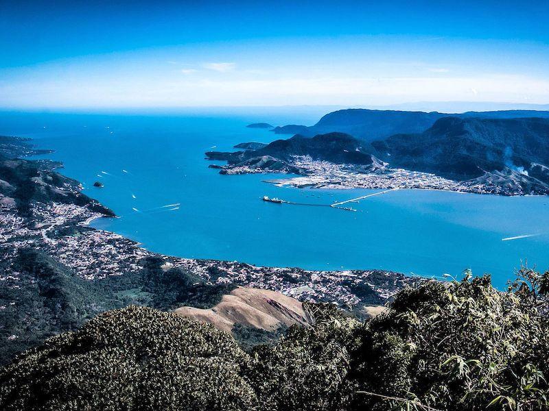 Vista do Pico do Baepi (Imagem: Wikimedia Commons/Igorh84)