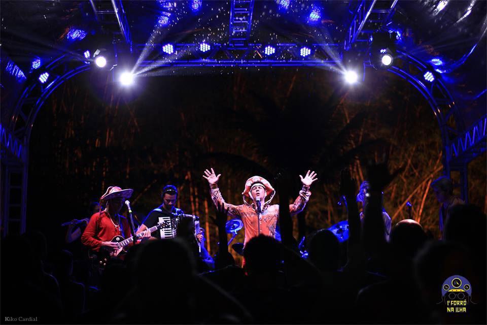 Show no Festival Forró na Ilha 2015 (Imagem: Kiko Cardial)