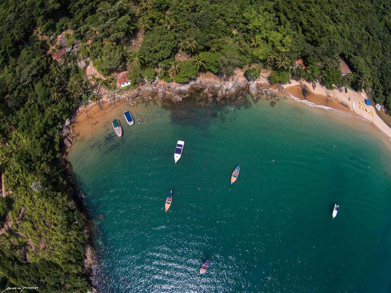 Praia da Fome (Imagem: Marco Yamin)