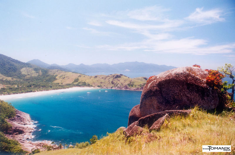 Vista do mirante na Praia do Bonete (imagem: Fernando Tomanik)