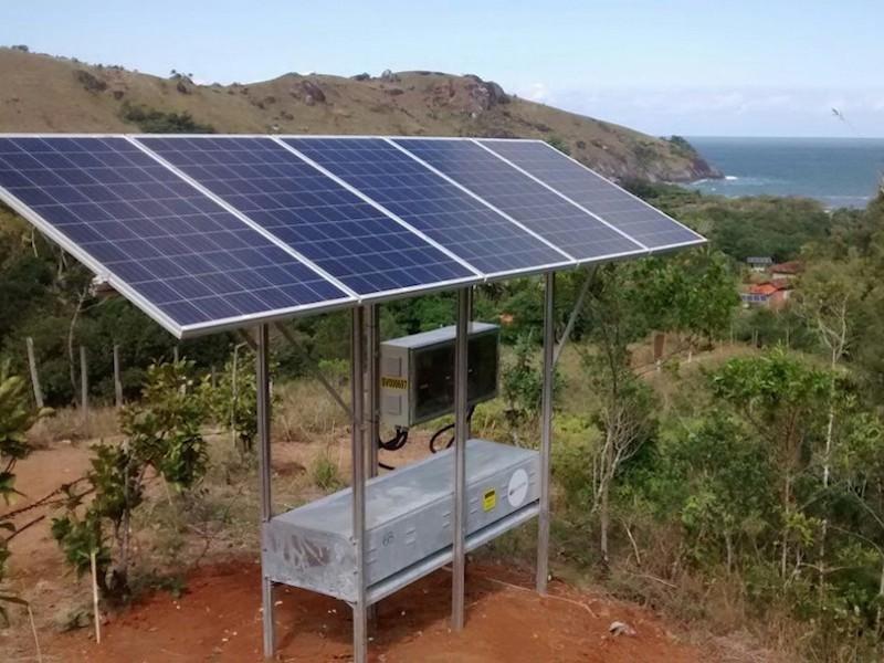 A instalação das placas solares custou 5 milhões de reais (Imagem: Divulgação/Elektro)